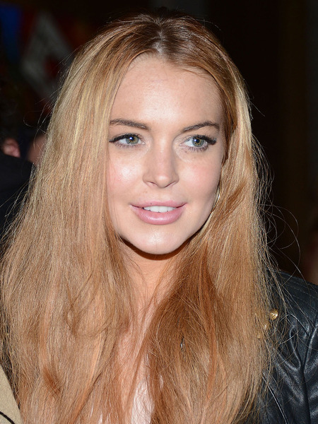 Lindsay Lohan Hospitalized after Colliding with Truck