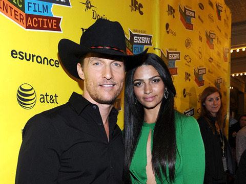 Matthew McConaughey, Camila Alves Set to Wed in Texas