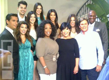 Sneak Peek! A Kardashian Family Feast with Oprah