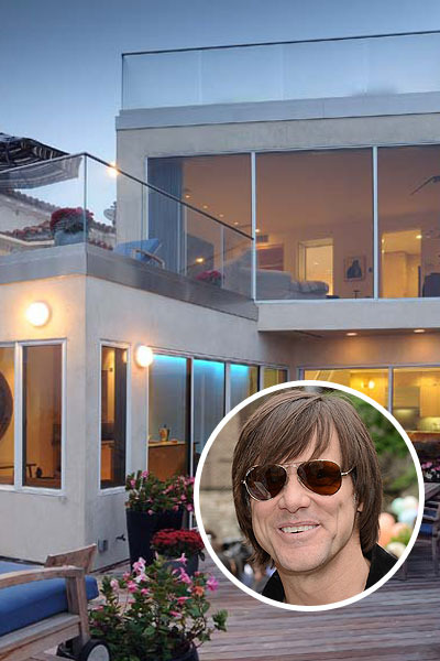 Pics! Jim Carrey to Sell Cool Malibu Digs