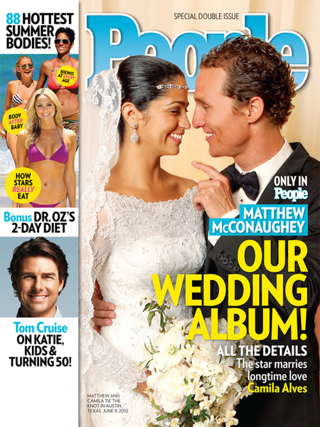 First Pics! Matthew McConaughey's Wedding Album
