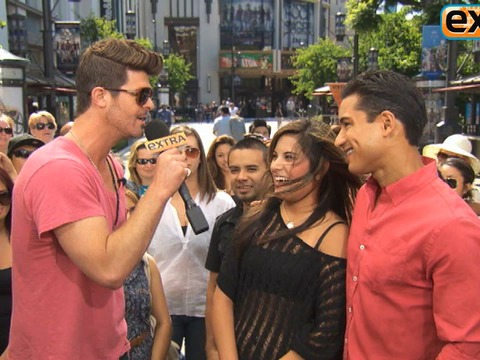 Robin Thicke Talks 'Duets' at The Grove