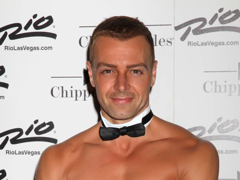 Video! Joey Lawrence Strips for Chippendales