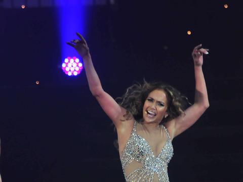 J. Whoa! Jennifer Lopez Rocks Panama in Sheer Bodysuit