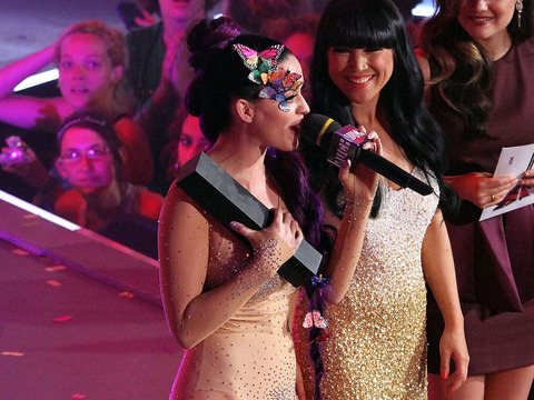 Photos! Katy Perry's Very Nude Body Suit at the MuchMusic Awards