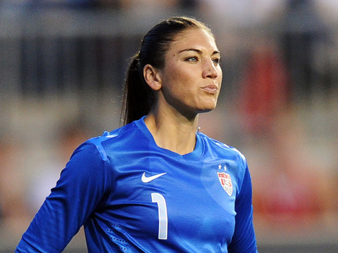 Hope Solo Gearing Up for Olympics