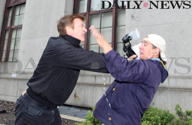 Alec Baldwin Fights Back Against Aggressive Paparazzi
