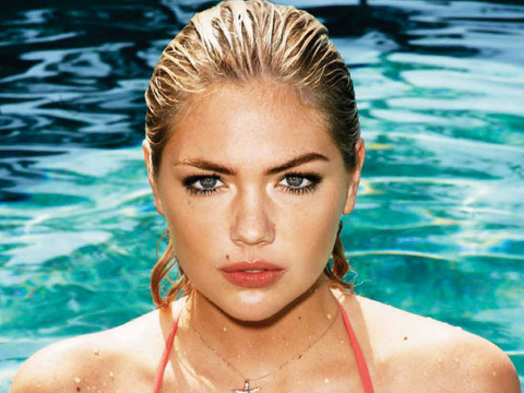 Video! Kate Upton's Super Hot GQ Bikini Cover Shoot