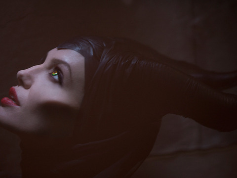 First Pic! Angelina Jolie as 'Maleficent'
