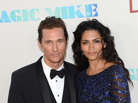 Newlyweds Matthew McConaughey and Camila Alves Step Out