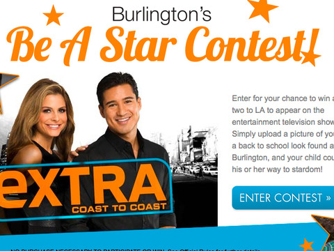 Learn More About Burlington's 'Be a Star' Contest!