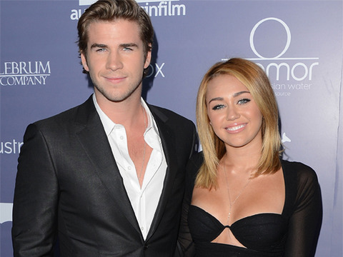 Miley Cyrus' Fiancé Liam Hemsworth Tells Crowd 'We're Married'!