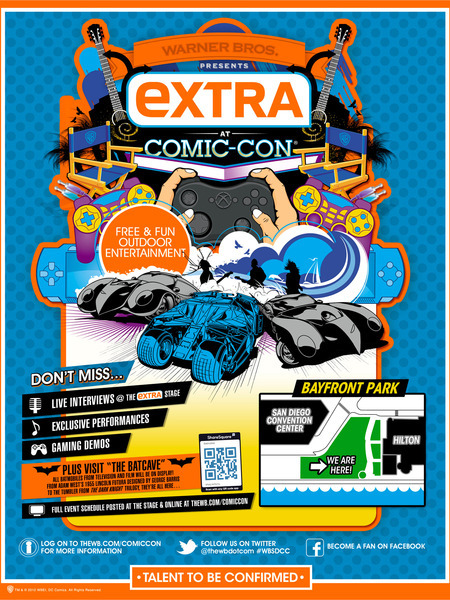 'Extra' at Comic-Con: The Fan-Tastic Lineup!