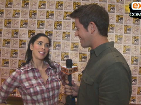 'Extra at Comic-Con': Tim Burton on 'Frankenweenie,' Sarah Silverman on 'Wreck-It Ralph'