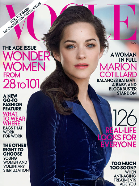 Marion Cotillard is 'Superwoman'