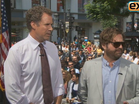 Ferrell and Galifianakis Talk 'Anchorman 2' and 'Hangover 3' Sequels
