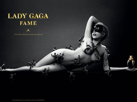 Pic! Lady Gaga Goes Lady Godiva for Fame Fragrance