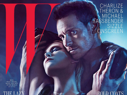 Charlize Theron and Michael Fassbender Steam Up W