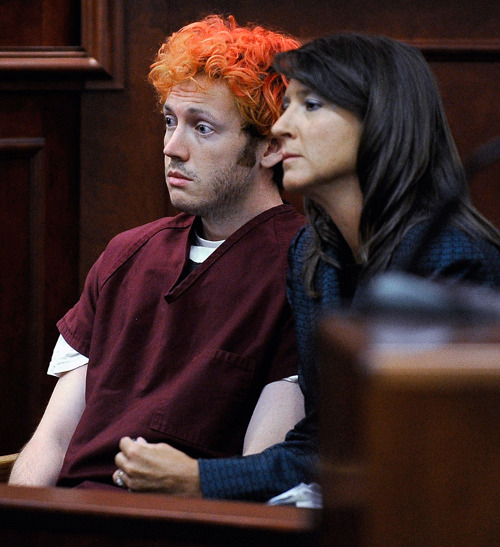 Colorado Shooting Suspect: Colorado Shooting Suspect James Holmes Appears In Court