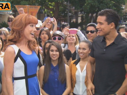 Kathy Griffin to Kristen Stewart: 'Hook Up with Taylor Lautner'