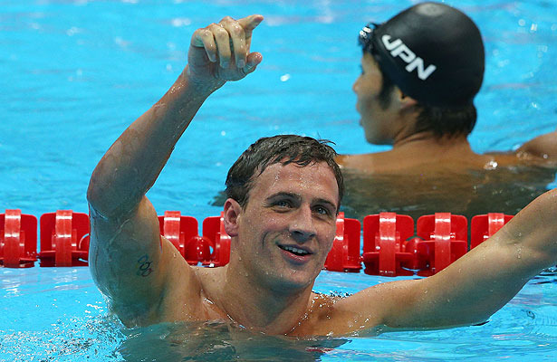 Ryan Lochte Wins Gold, Beats Michael Phelps