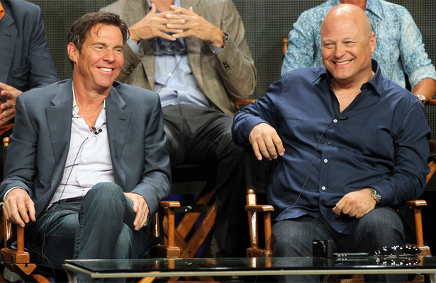 Dennis Quaid and Michael Chiklis Square Off in 'Vegas&#