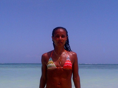 Jada Pinkett Smith Tweets Bikini Photo: 'We DO Get Better with Age!'