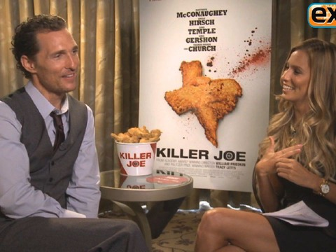 Matthew McConaughey Talks 'Magic Mike' Sequel and 'Killer Joe'