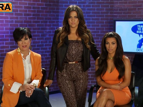 Video! The Kardashians Team Up to Stop Bullying
