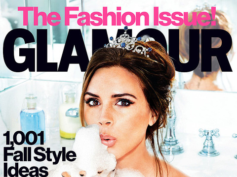 Victoria Beckham is Guest Editor for Glamour Magazine