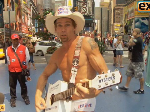 Video! The Naked Cowboy to Randy Travis: There Can Only Be One