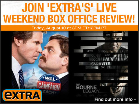 Watch 'Extra's' Live Weekend Box Office Review!