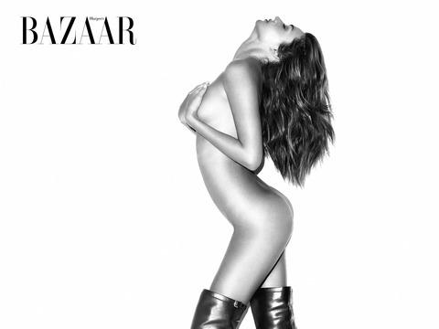 Miranda Kerr Bares All for Bazaar