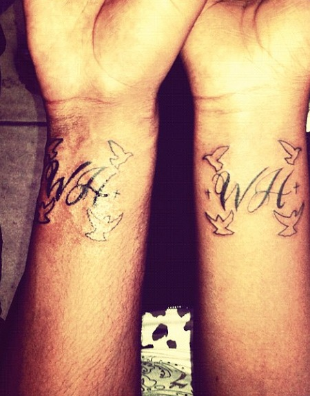 Bobbi Kristina Remembers Whitney Houston with 'WH' Tattoo