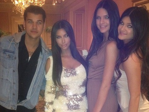 Pics! Kardashians Celebrate Kylie Jenner's 15th