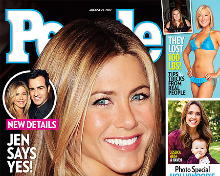 Jennifer Aniston and Justin Theroux: The Proposal Details