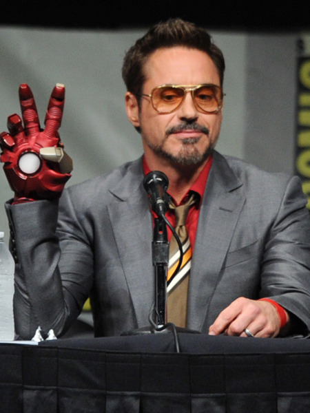 Robert Downey Jr. Injured While Filming 'Iron Man 3'