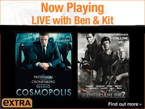 Watch 'Now Playing' -- LIVE with Ben and Kit