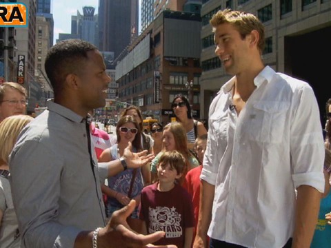 Video! Hanging Out with Olympian Matt Grevers