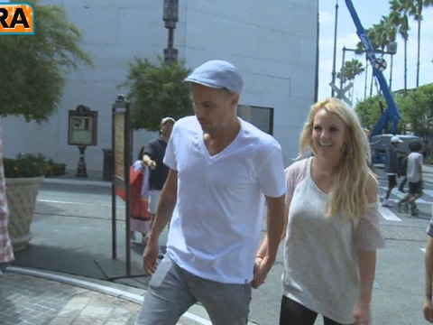 Video! Britney Spears at The Grove