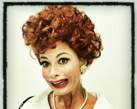 Sofia Vergara Plays Dress Up as Lucille Ball