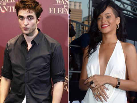 Rihanna Text Flirting with Rob Pattinson