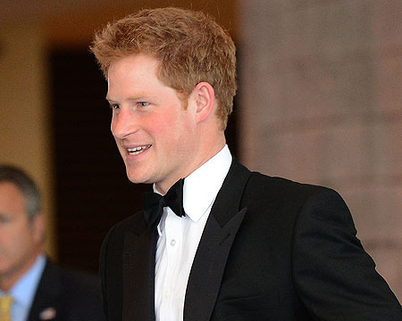 Report: Prince Harry's Naked Pool Game Caught on Video