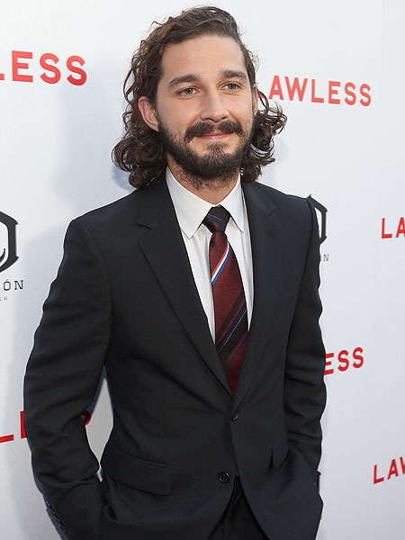 Shia LaBeouf Takes His Job Very Seriously