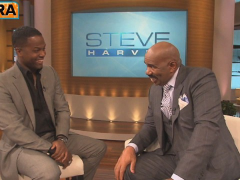 'Extra' Raw! On the Set with Steve Harvey