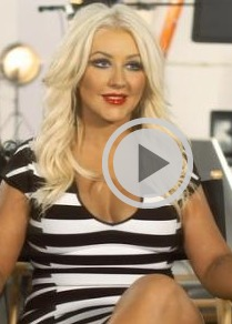 Video! Christina Aguilera Talks Blind Auditions