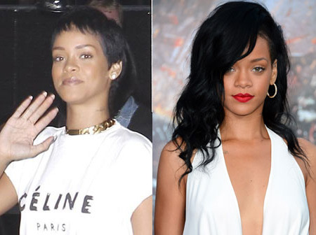 Pic! Rihanna Sports a Short 'Do