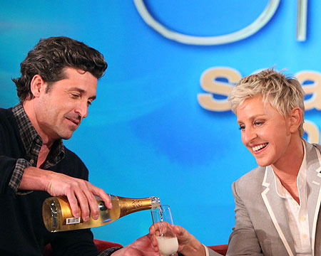 Sneak Peek! Patrick Dempsey Celebrates 'Ellen's' Season 10