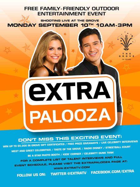 Celebrate 'Extra's' New Season at The Grove with ExtraPalooza!
