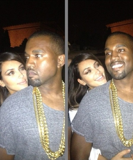 Pics! Kim and Kanye's Relationship Documented via Instagram